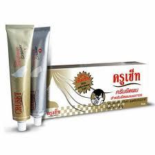 cruset hair straightener cream extra