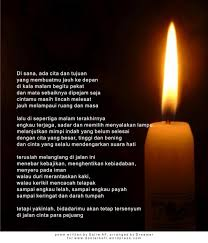 kata mutiara tentang cahaya lilin dalam bahasa inggris katakan