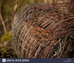 Roll Of Fencing Wire High Resolution Stock Photography And Images Alamy