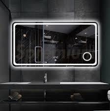 led lighted wall mounted bathroom