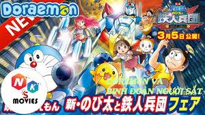 Hoạt hình Doremon - Doremon và binh đoàn người sắt |phần 2| - phim hoạt hình  tiếng việt hay nhất . - YouTube