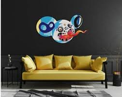 Kaws Wall Decal Etsy