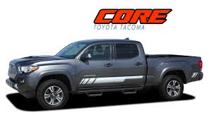 Core Toyota Tacoma Stripes Toyota Tacoma Decals Tacoma Vinyl Graphics