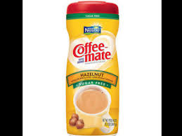 coffee mate hazelnut sugar free powder