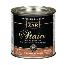 2pt amber zar wood stain