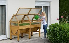 vegtrug medium cold frame with the