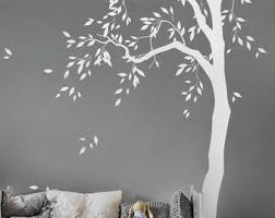 Bamboo Tree Forest Wall Decal Large Nursery Wall Decal Bamboo Etsy In 2020 Forest Wall Decals Tree Wall Decal Nursery Wall Decals
