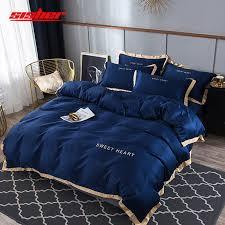 sisher luxury bedding set flat bed