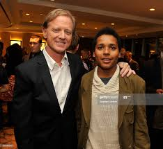 Director James Redford and film subject ...