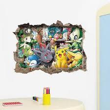 Pokemon Go Wall Sticker 3d Art Vinyl Decal Sticker Kids Nursery Room D Etzetra