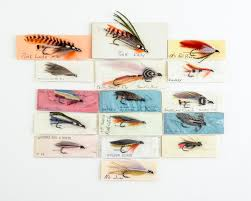 16 Vintage Ora Smith Flies | Lang's Auction Inc.