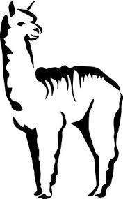 Alpaca Sihouette Llama Decor Decal Sticker Car Camelid Love Free Us Shipping Ebay