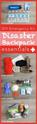 diy disaster backpack emergency 72