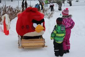 Vihaiset linnut lumella – Angry Birds Go Snow -talviseikkailu ...