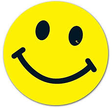Amazon Com Donkey Auto Products Happy Smiley Faces Vinyl Window Stickers With Or Without Sunglasses Yellow 6 12 Per Pack No Sunglasses Automotive