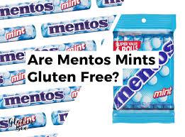 are mentos gluten free glutenbee