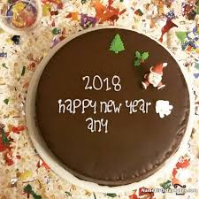 special happy new year cake image by