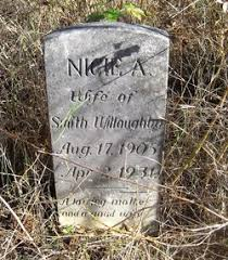 Nicie Addie Young Willoughby (1905-1931) - Find A Grave Memorial