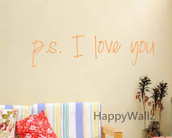 Love Quote Wall Sticker Ps I Love You Wall Quotes Diy Decorative Vinyl Love Quotes Vinyl Wall Art Decal Custom Colors Q71 Vinyl Wall Art Decals Wall Quotesvinyl Wall Art Aliexpress