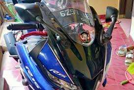 yamaha r15 v3 tahun 2018 jual motor