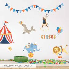 Circus Party Wallums Com Wall Decor