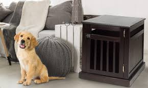 How To Train Your Dog To Sleep In A Dog Kennel Overstock Com