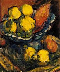 Sir Matthew Smith (1879-1959), STILL LIFE WITH QUINCES, oil on canvas, 61 x  51cm