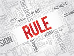 Image result for rule word