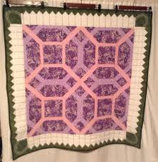 Garden Maze With Picket Fence Border Quilt Border Quilts Decor