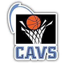 Amazon Com Hotprint Cavaliers Basketball Cleveland Sport Logo Car Bumper Sticker Decal 4 X 5 Kitchen Dining
