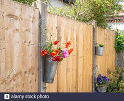 Wooden Fence Post Flowers High Resolution Stock Photography And Images Alamy