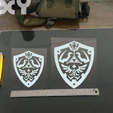 Zelda Triforce Of Hyrule Sticker Vinyl Decal Car Window Wall Decor Gift Symbol