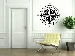Nautical Compass Vinyl Sticker Wall Decal Sold By Roman Graphics On Storenvy