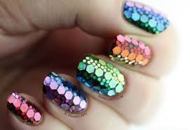 nail art mermaid