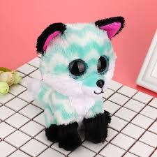 Amazon.com: Toy Shimigy Big Eyes Fox Plush Animals Doll Babies ...