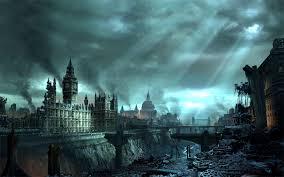 london under disaster hd wallpaper