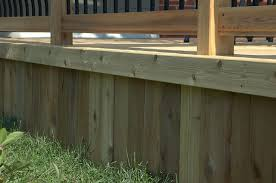 build a wood deck in 4 simple steps