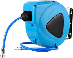 garden 10m automatic rewind air hose