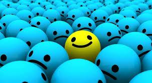 blue and yellow emoji wallpaper