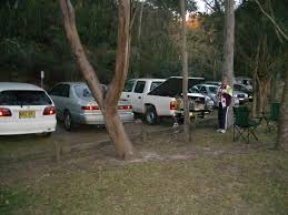 tw05 Our support cars at Roseville Bridge - including Joy West - one of our  Berowra based crew.