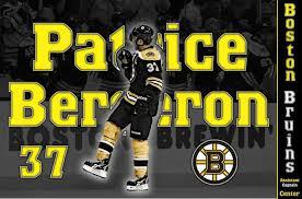 hockey patrice bergeron boston