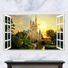 2018 New Design Castle Kids Room Decor 3d Fake Window Wall Stickers For Children Bedroom Buy 3d Wall Stickers Kids Room Decoration 3d Stickers Room Decor Castle Wall Stickers Product On Alibaba Com