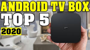 TOP 5: Best Android TV Box 2020 - YouTube
