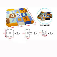 Eva Foam Play Mat With Fence Baby Puzzle Jigsaw Floor Mats Thick Carpet Pad Toys For Kids Sale Price Reviews Gearbest