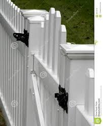 White Fence Gate Stock Photo Image Of Picket Gate Property 48173616