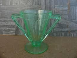 victory green depression glass