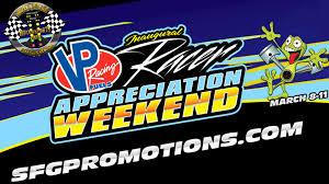 vp racers appreciation weekend