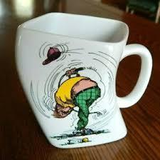 twisted golf humor coffee mug 1991