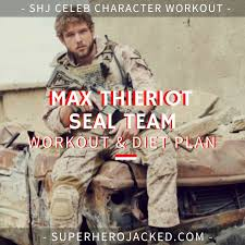 max thieriot workout routine and t