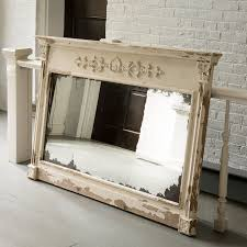 vintage market mantel mirror